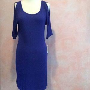 NWT Cold shoulder dress
